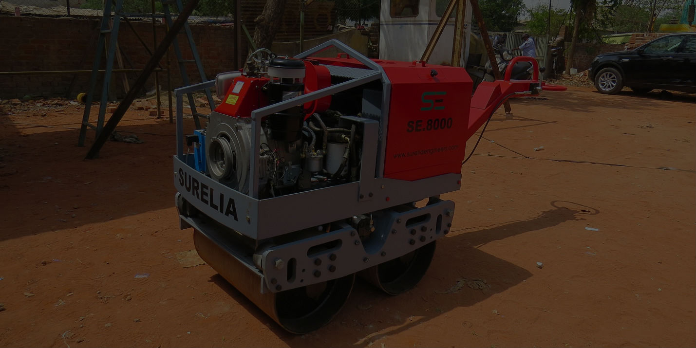 Construction equipment and machinery manufacture Ahmedabad