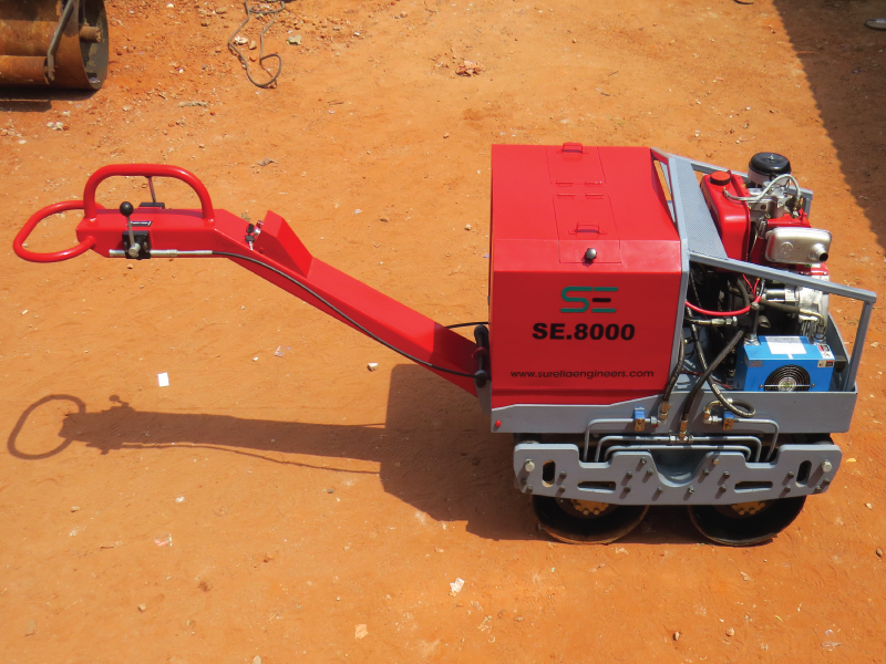 WALK BEHIND VIBRATORY ROLLER Model – SE-8000