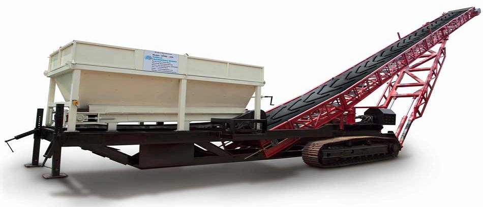 Track Mounted Conveyor